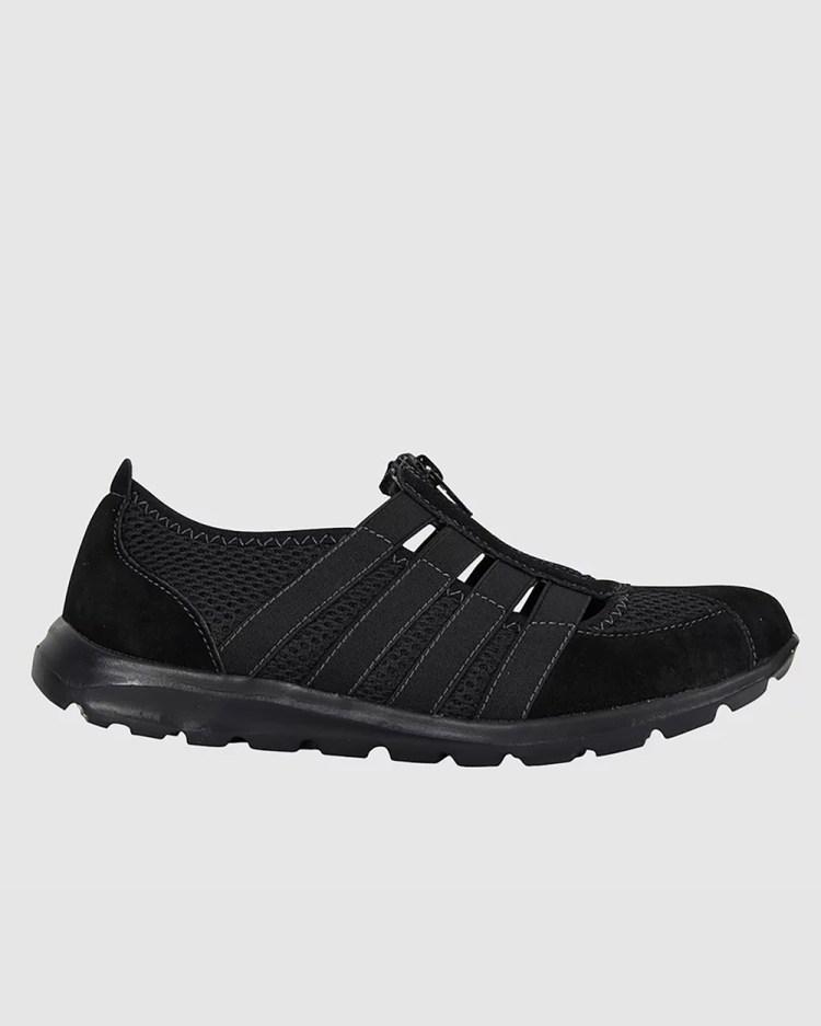 Ravella Christina Slip-On Sneakers BLACK