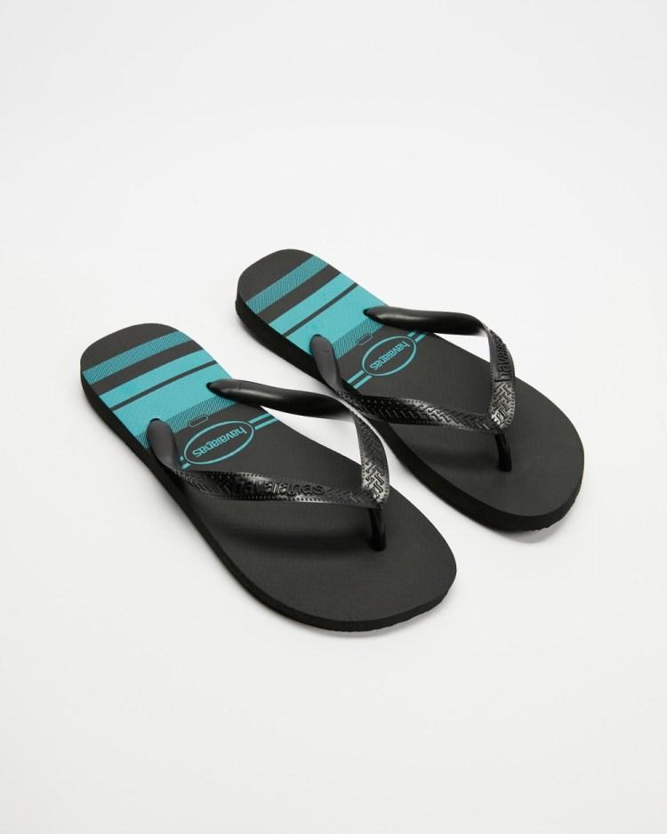 Havaianas Top Basic Unisex All thongs Black, Black & Black