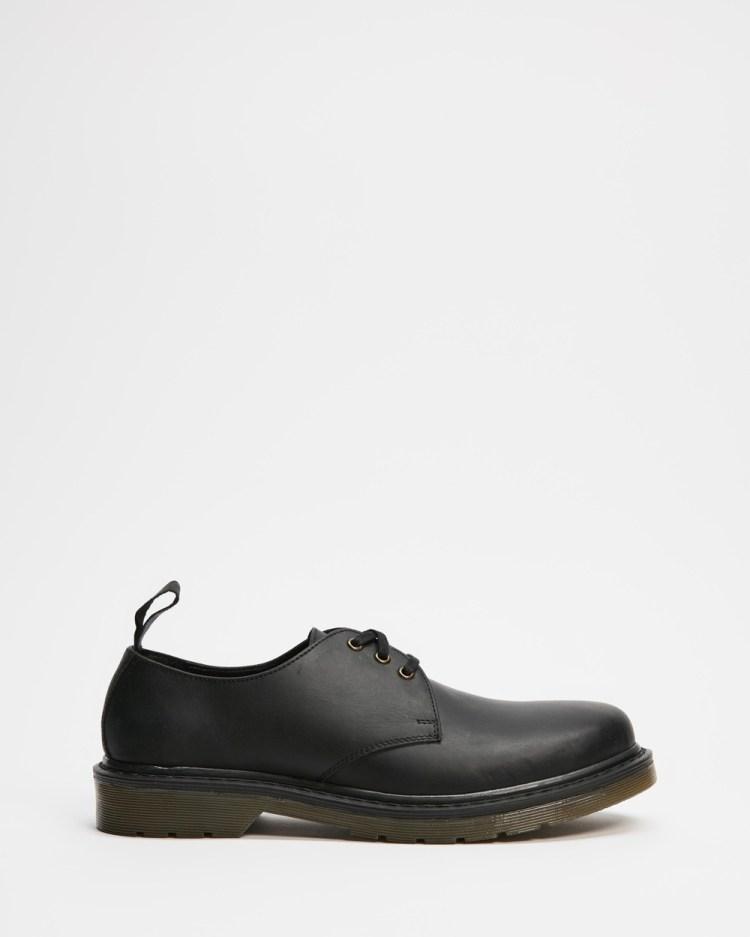 AERE Leather Shoes Dress Black