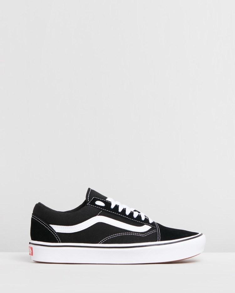 Vans ComfyCush Old Skool Unisex Sneakers Black & True White