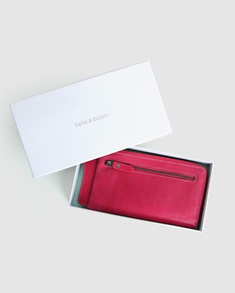 Belle & Bloom Penelope Wallet Wallets Hot Pink