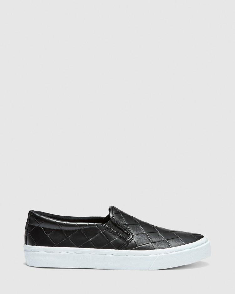 Novo Camilio Slip-On Sneakers Black