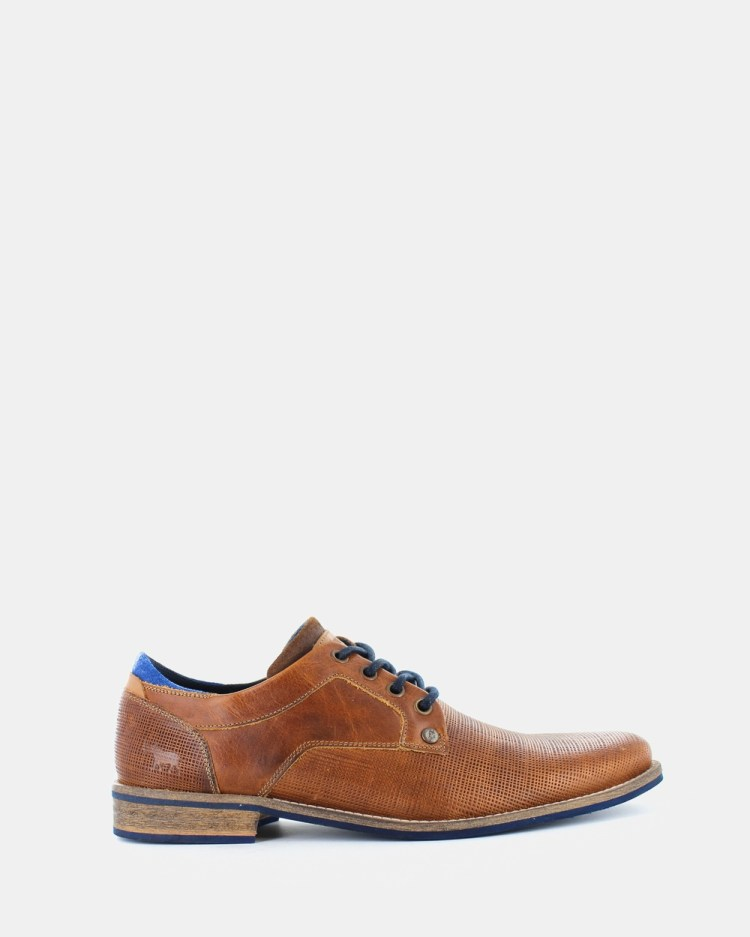 Wild Rhino Manly Dress Shoes Brown