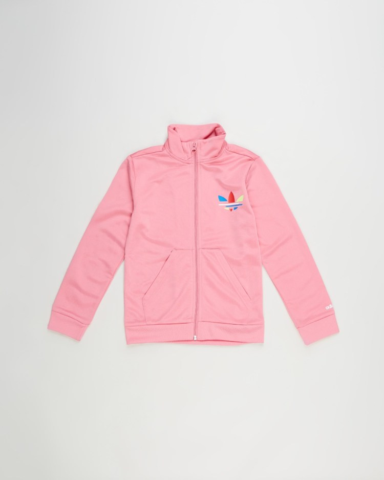 adidas Originals Track Top Kids Teens Coats & Jackets Rose Tone Kids-Teens