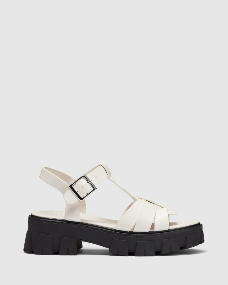 Therapy Alessia Wedges White