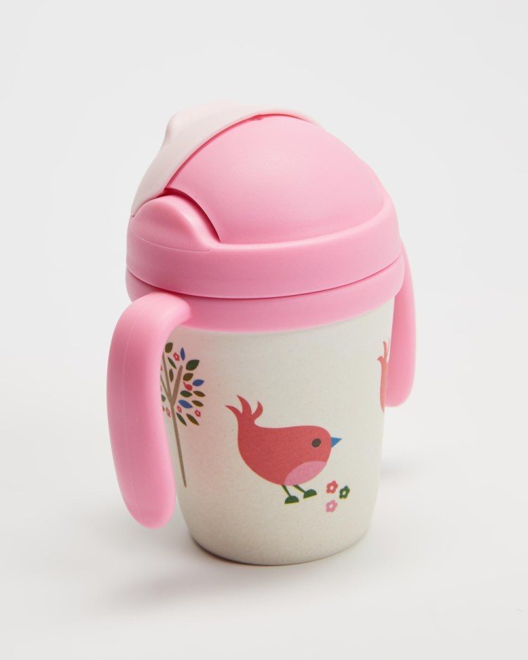 Penny Scallan Bamboo Sippy Cup Kids Home Chirpy Bird