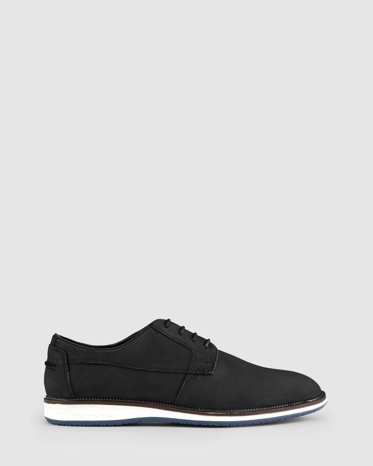 AQ by Aquila Saville Casual Shoes Dress Black