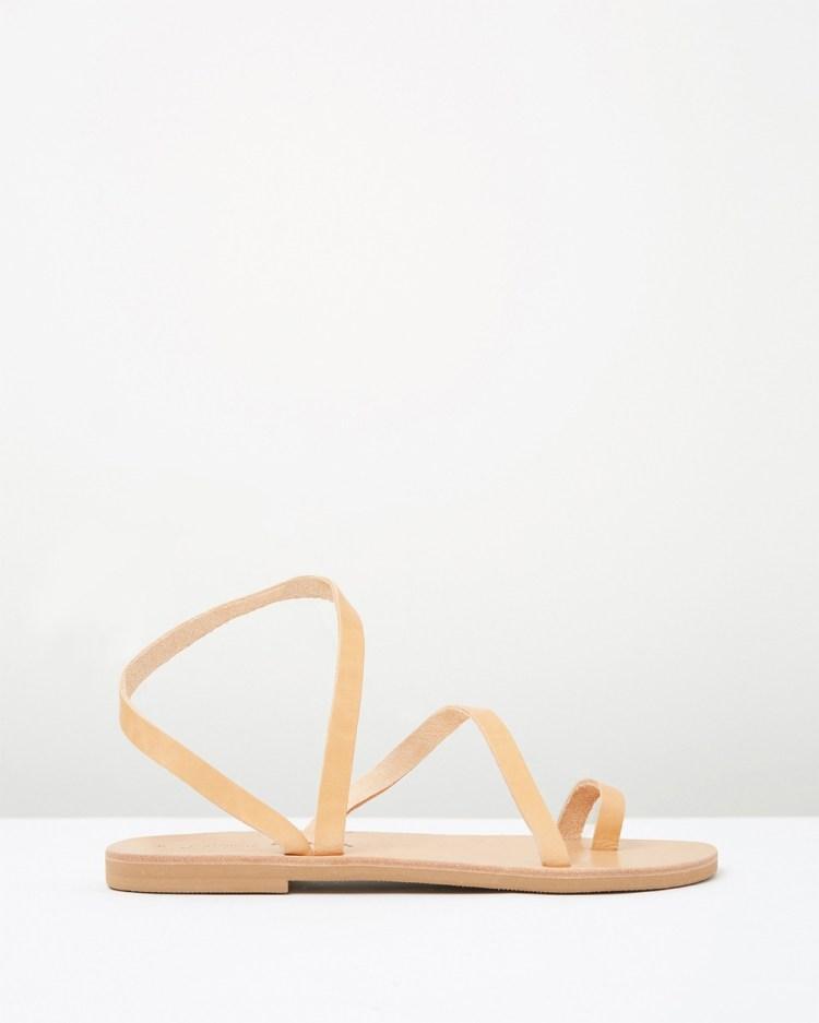 Ammos Epione Sandals Tan