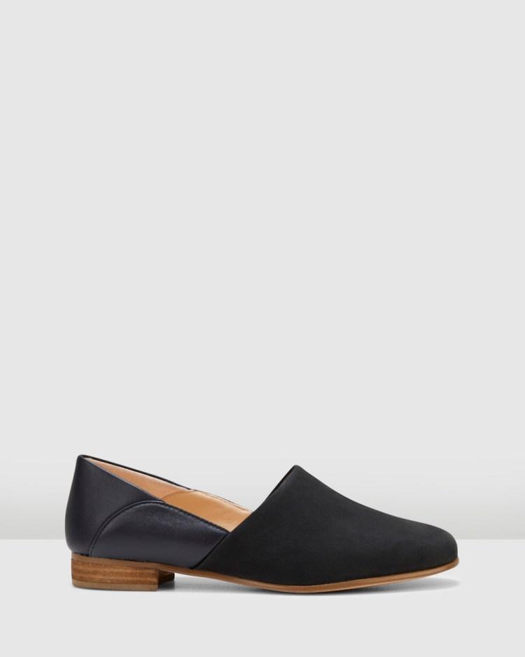 Clarks Pure Tone Mid-low heels Black Combo