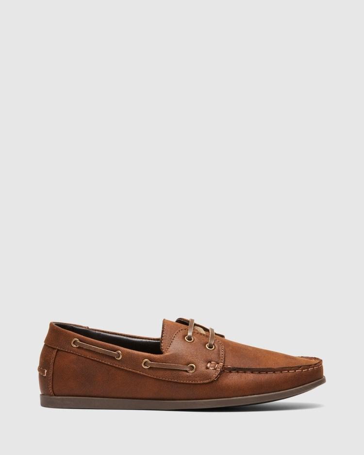 Uncut Benito Casual Shoes Tan