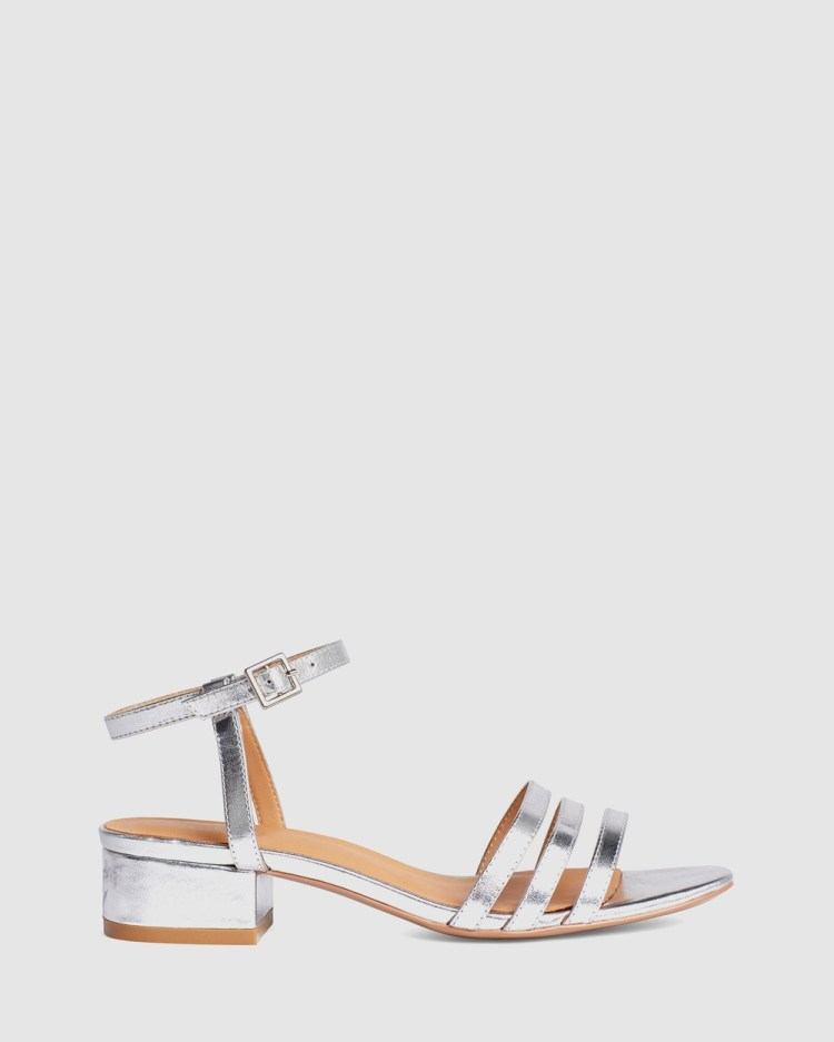 LMS The Mimi Mid-low heels Silver