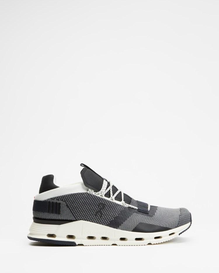 On Running Cloud Nova Men's Performance Shoes Black & White