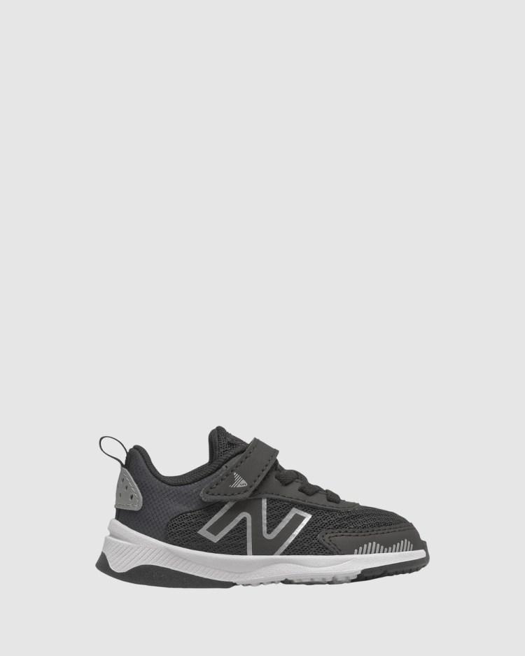 New Balance 545 Self Fastening Strap Infant Lifestyle Shoes Black/White Self-Fastening