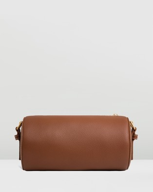 Oroton - Margot Drum Bag - Bags (Whiskey) Margot Drum Bag