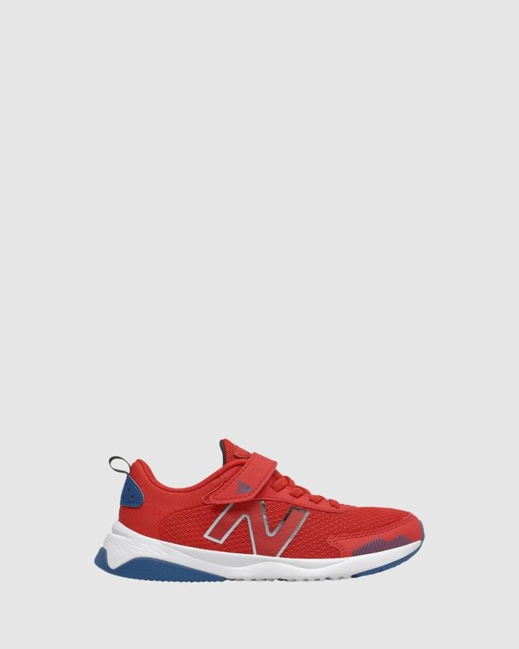 New Balance 545 Self Fastening Strap Pre School Lifestyle Shoes Red/Blue Self-Fastening Pre-School