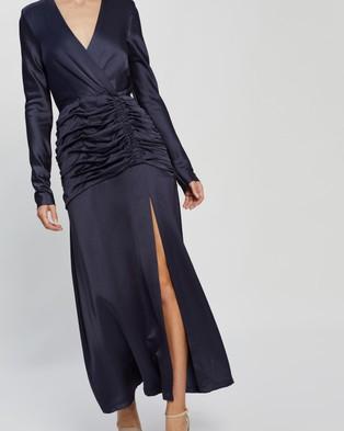 Bec + Bridge - Mireille LS Midi Dress - Bridesmaid Dresses (Midnight) Mireille LS Midi Dress