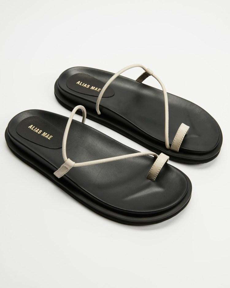 Alias Mae Soji Sandals Bone Leather