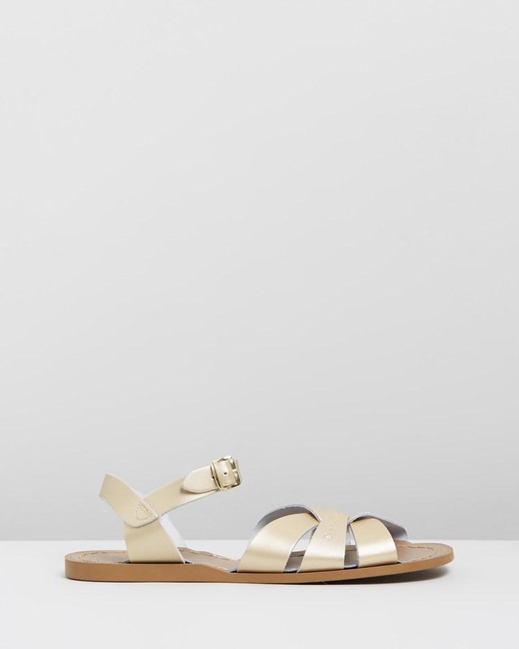 Saltwater Sandals Womens Original Gold