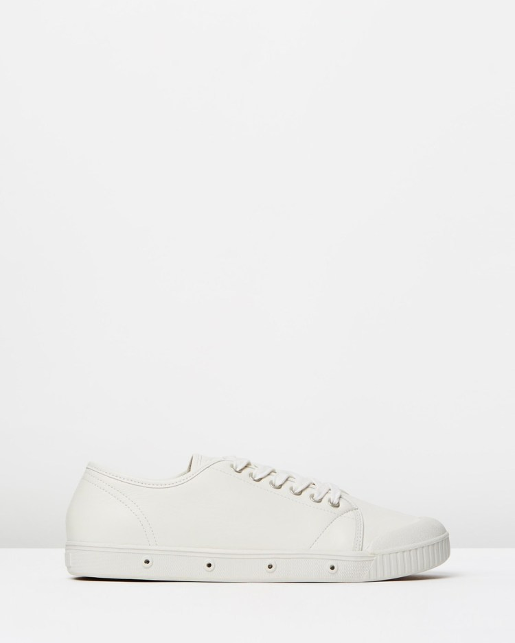 Spring Court G2 Leather Mens Sneakers White