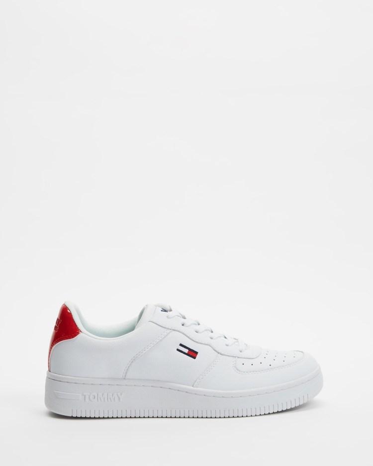 Tommy Jeans Basketball Sneaker Women's Sneakers White