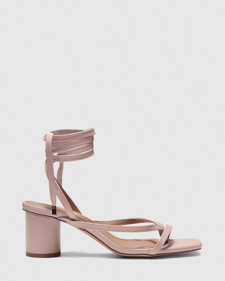 Novo Zuko Mid-low heels Pink