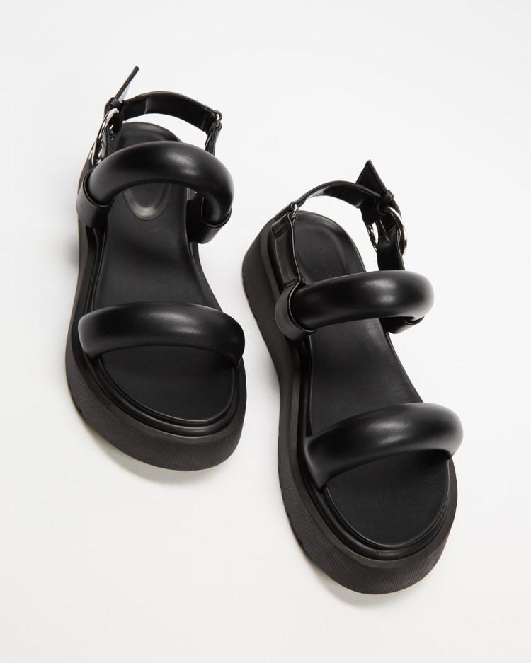 TOPSHOP Int Pacha Sandals Black
