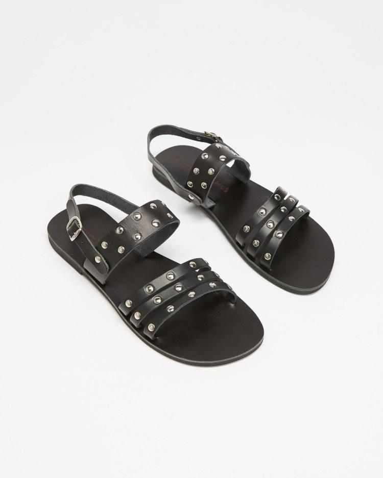 Ammos Agathe Sandals Black