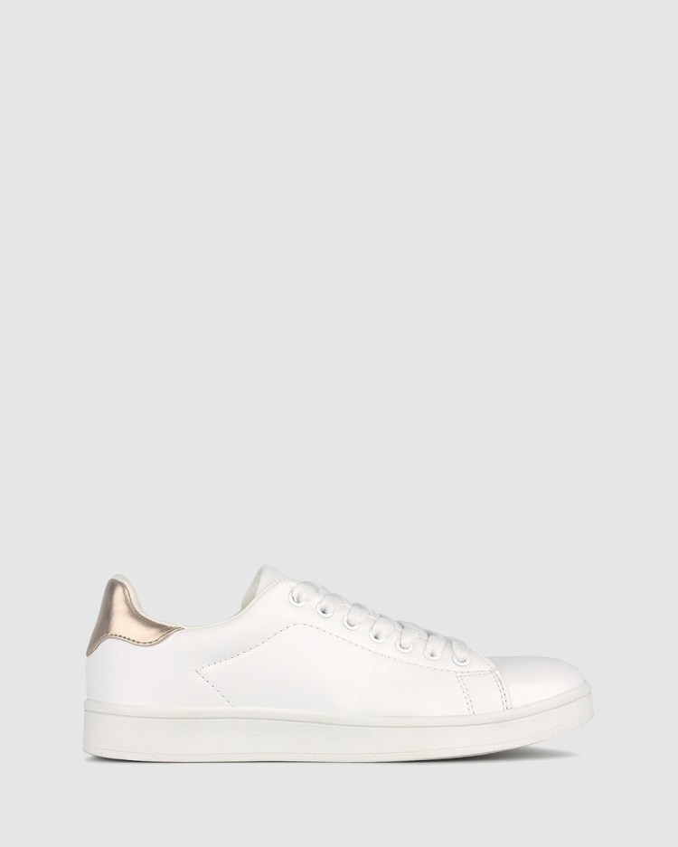 Betts Mynx Lace Up Sneakers White Lace-Up