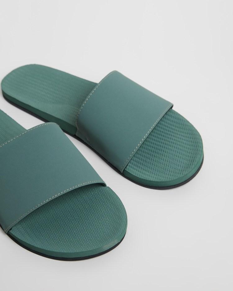 Indosole ESSENTLS Slides Women's Sandals Leaf