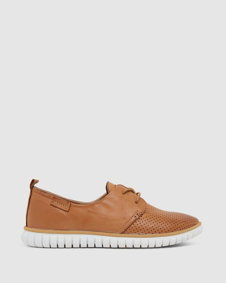 Easy Steps Jigsaw Lifestyle Sneakers Tan
