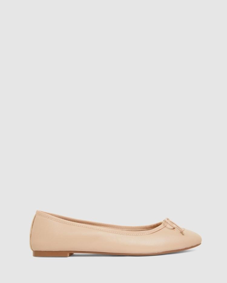 Jane Debster Fonteyn Ballet Flats NUDE