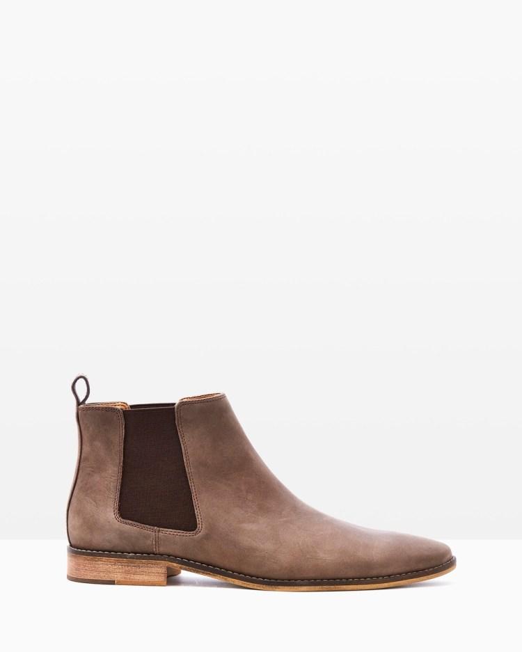 Croft Camden Dress Boots Cigar