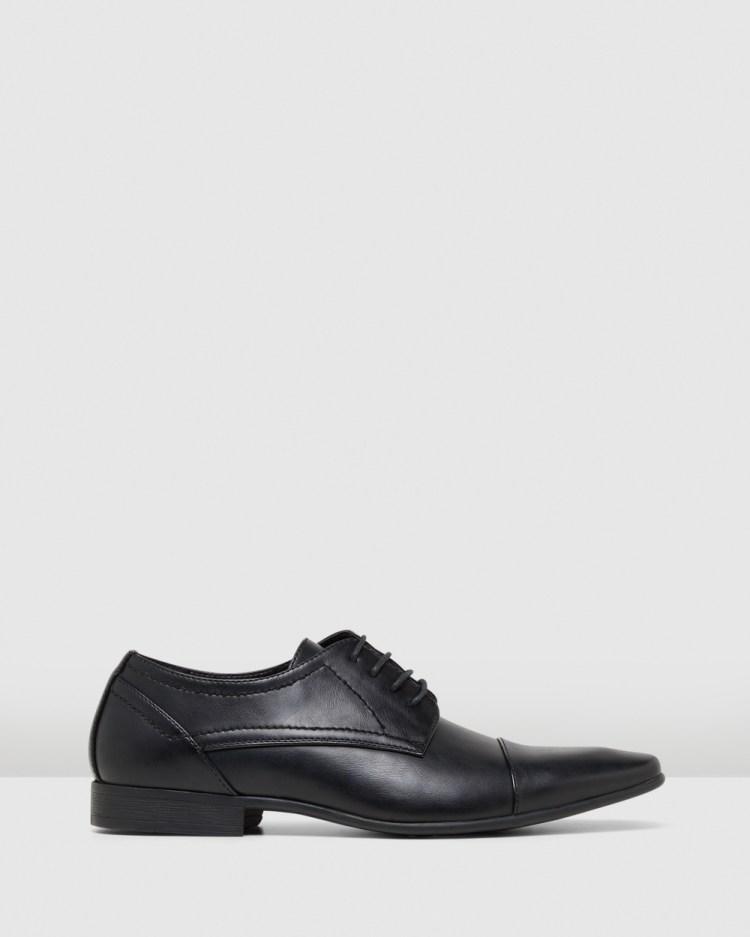 JM Ormond Dress Shoes Black