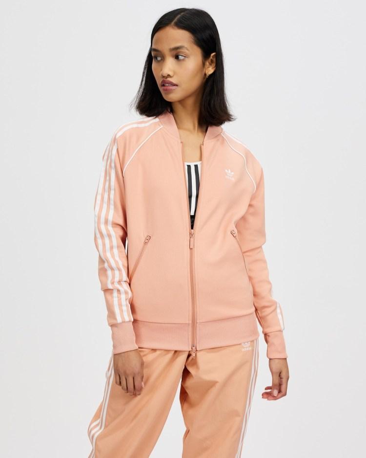adidas Originals Primeblue SST Track Jacket Coats & Jackets Ambient Blush