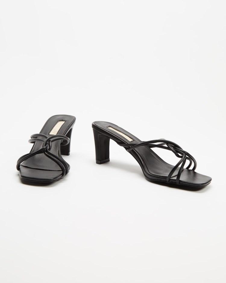 Billini Kora Mid-low heels Black