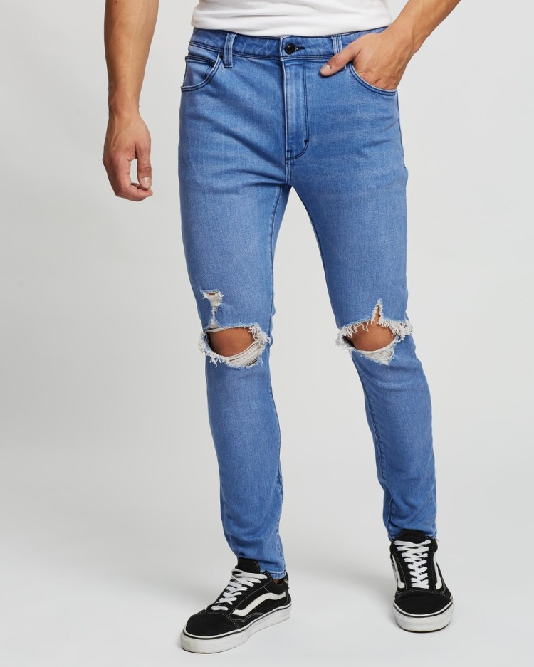 Abrand A Dropped Skinny Turn Up Jeans Rogue