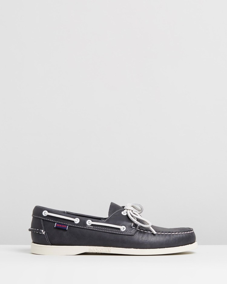 Sebago Docksides Casual Shoes Blue Navy