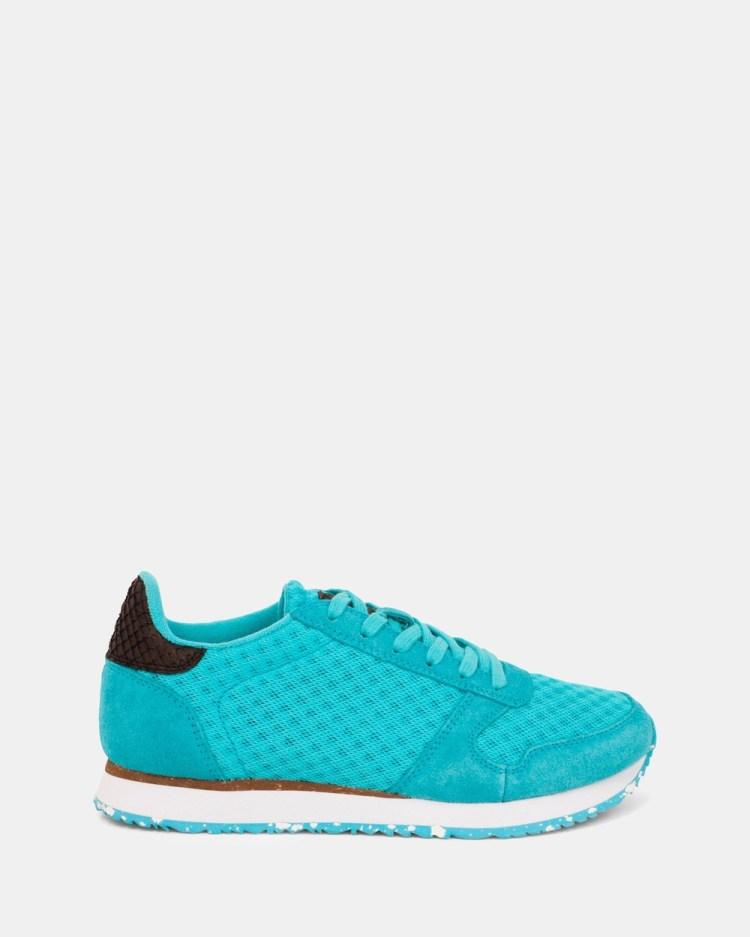 Woden Ydun Suede Mesh II Sneakers Blue