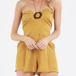 Amelius - Shelby Playsuit - Jumpsuits & Playsuits (yellow) Shelby Playsuit