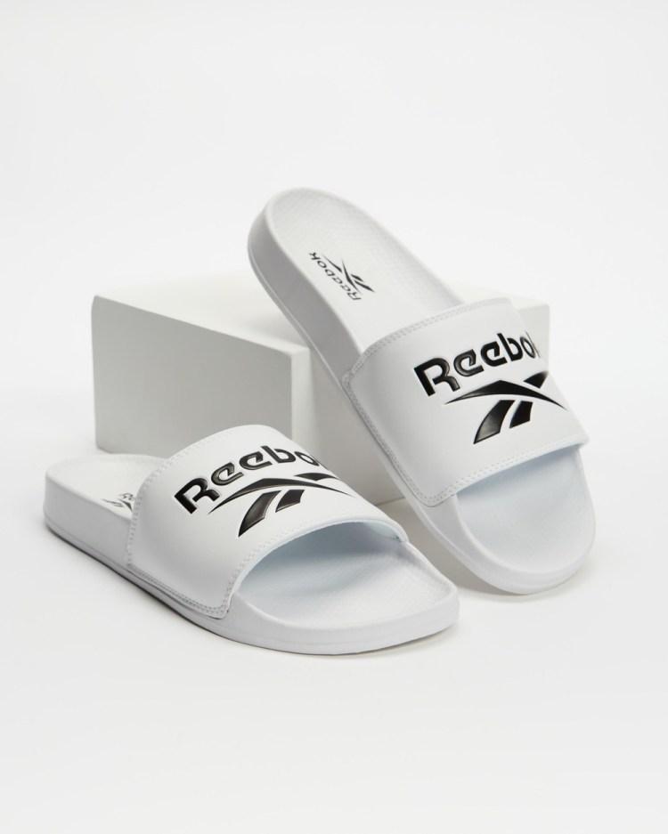 Reebok Classic Slides Unisex White & Black