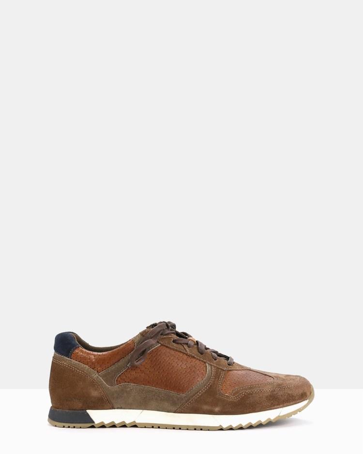 Acton Jones Sneakers Brown, Neutrals