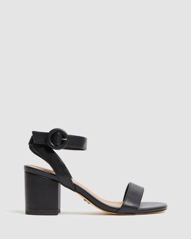 Novo Eisen Mid-low heels Black