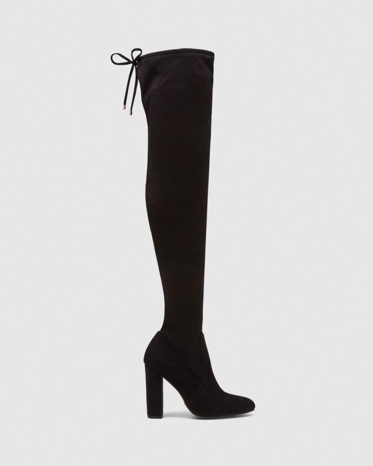 Novo Outlaw Boots Black