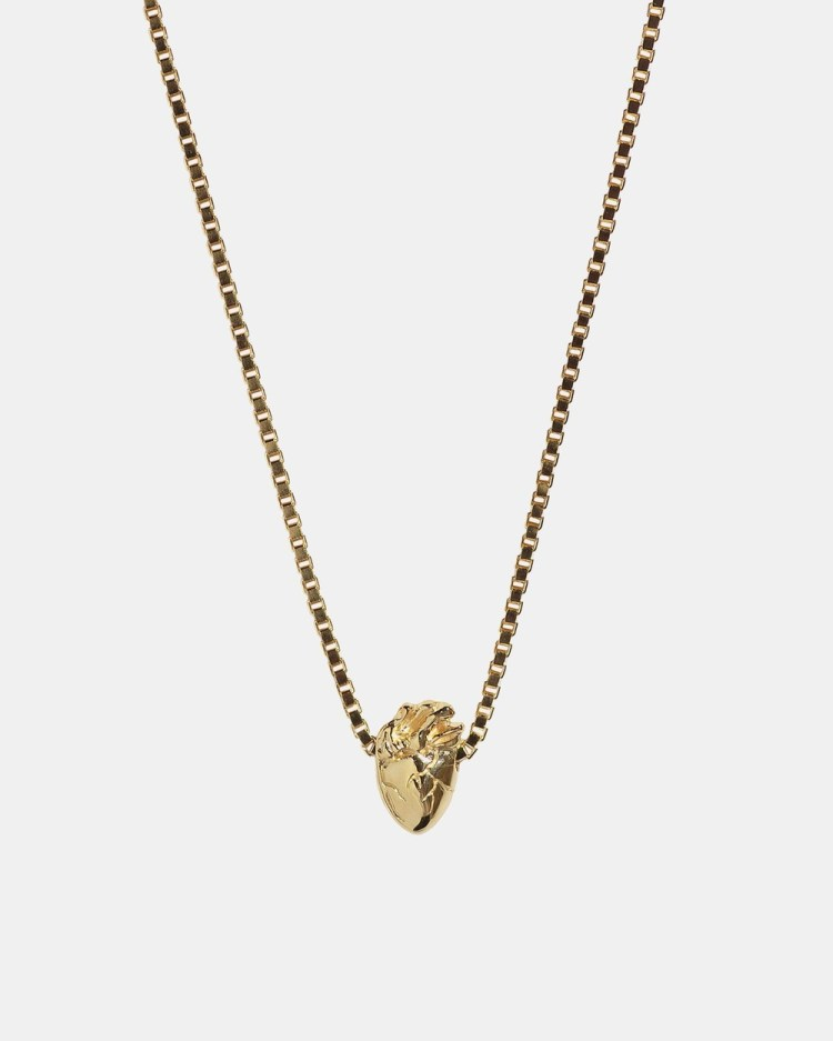 Aletheia & Phos I Carry Your Heart Necklace Jewellery Gold