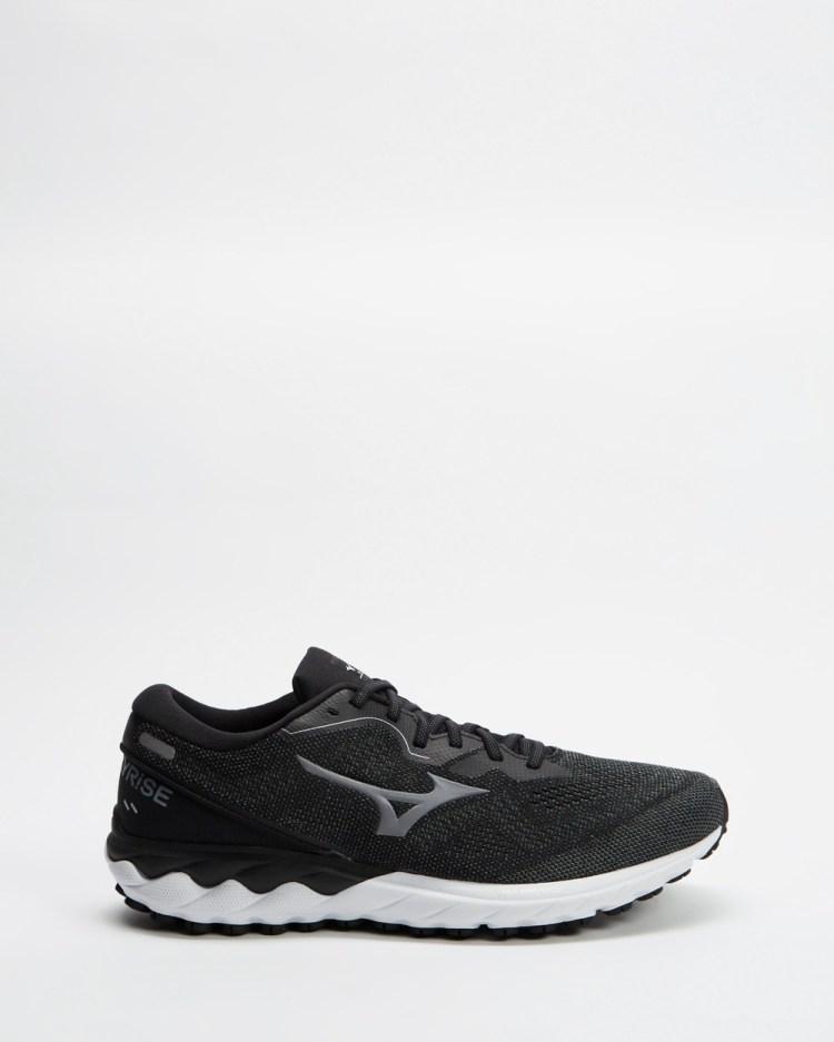 Mizuno Wave Skyrise 2 Mens Performance Shoes Black & Frost Grey