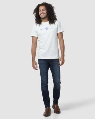 Superdry Everest Tee T-Shirts Cream