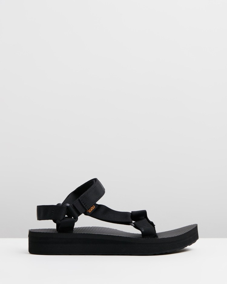 Teva Midform Universal Women's Sandals Black