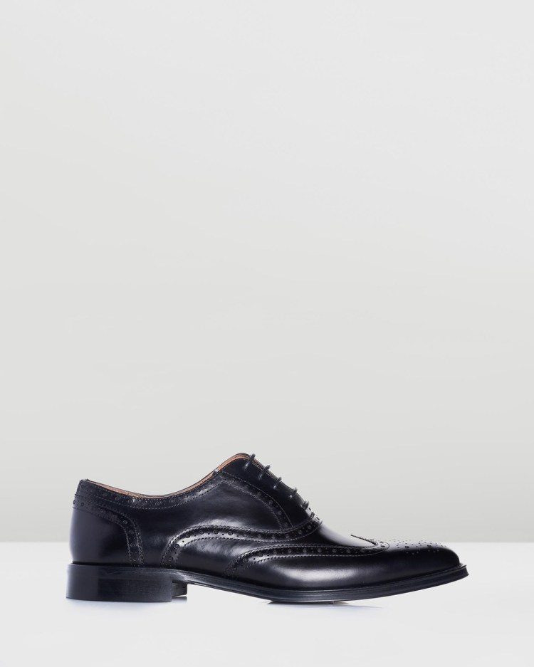 3 Wise Men The Prince Dress Shoes Black