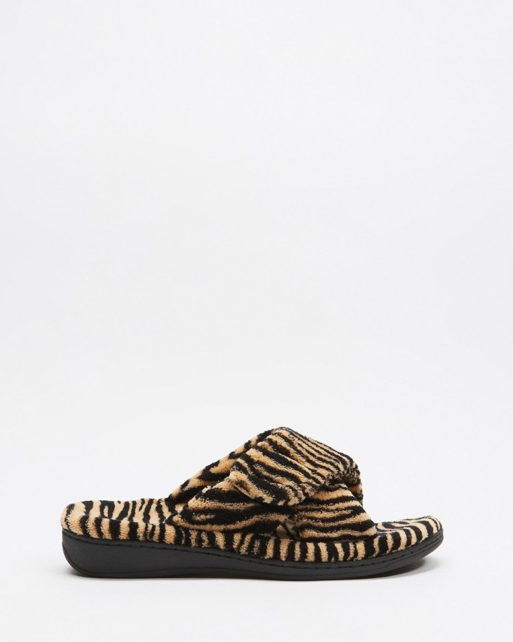 Vionic Relax Slippers & Accessories Tiger
