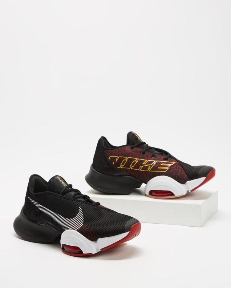 Nike Air Zoom SuperRep 2 Men's Training Black, White & Dark Cayenne